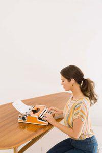 Les inconvénients de machines à écrire
